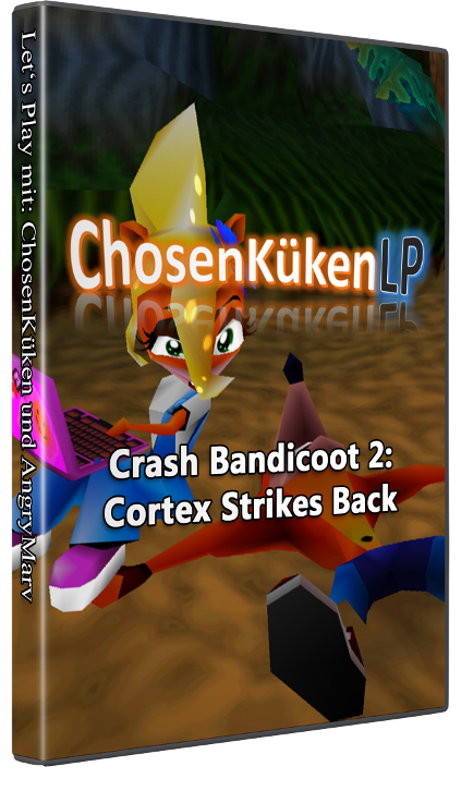 Game Cover Crash Bandicoot 2: Cortex Strikes Back