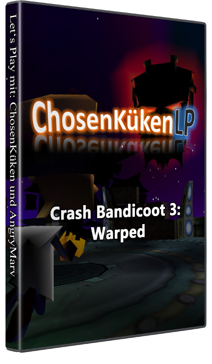 Game Cover Crash Bandicoot 3: Warped