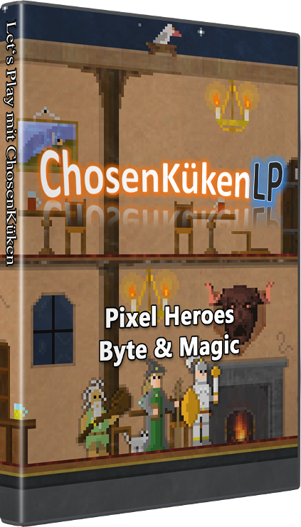 Game Cover Pixel Heroes: Byte & Magic